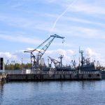 Морской порт Кронштадт