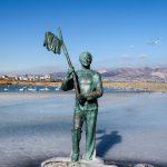Памятник Миронову – Геше Козодоеву