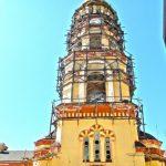 Колокольня Новоафонского монастыря
